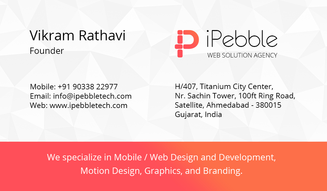 iPebble-business-card